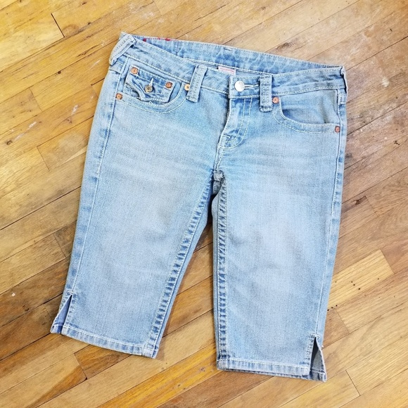 True Religion Pants - True Religion bermuda shorts low rise size 28